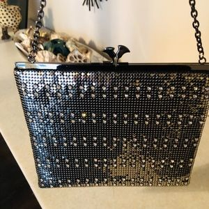 Whiting & Davis Vintage Metal Mesh bag - Silver